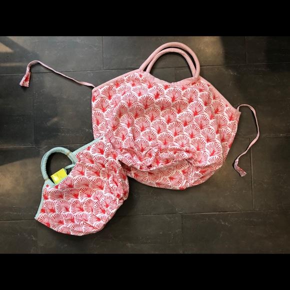 Roberta Roller Rabbit Other - 🌱SOLD🌱 Roller Rabbit mommy & me bondi beach bags